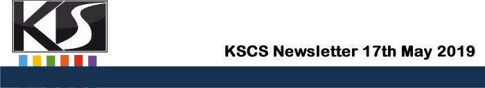 KSCS Newsletter May 17th 2019