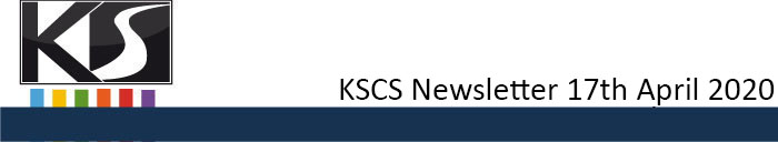 KSCS Newsletter April 17th 2020